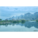 Sunset landscpae of yangshuo in guilin,china 64238
