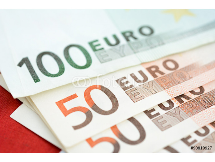 Money, Euro currency (EUR), banknotes 64238