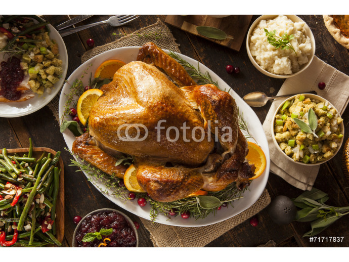 Whole Homemade Thanksgiving Turkey 64238