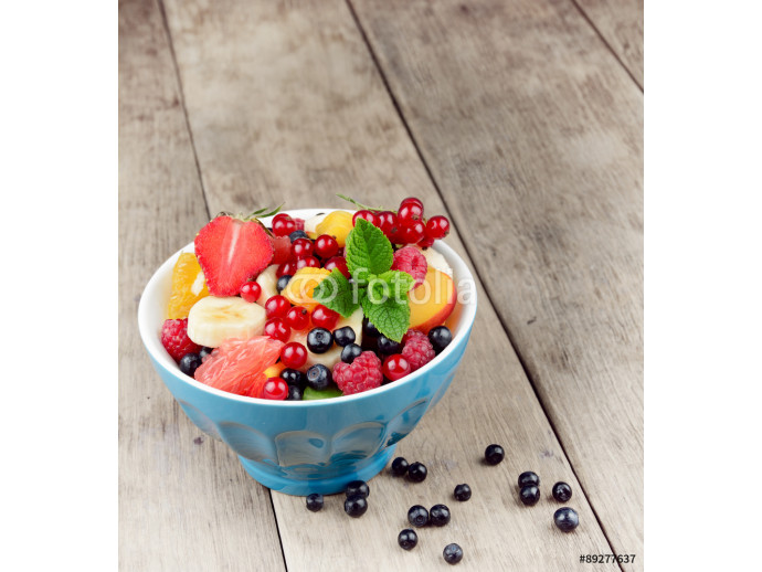 Fresh tasty fruit salad 64238