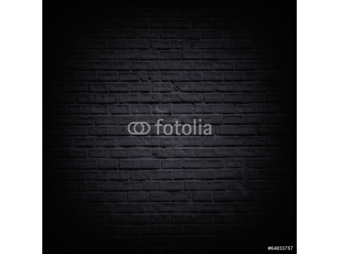 Black brick wall 64238