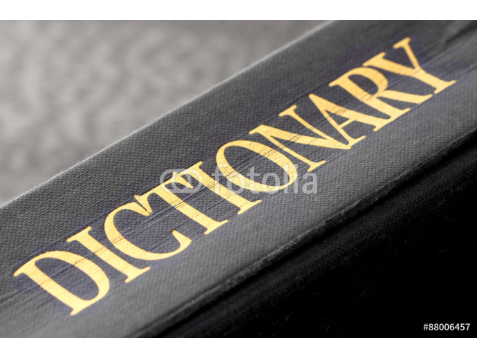 Dictionary.