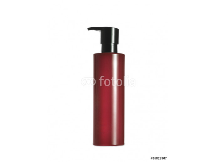 red spray, isolated on white 64238