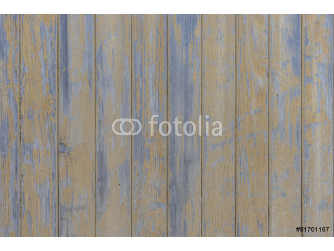 Fototapeta Blue wooden boards at shabby style 64238