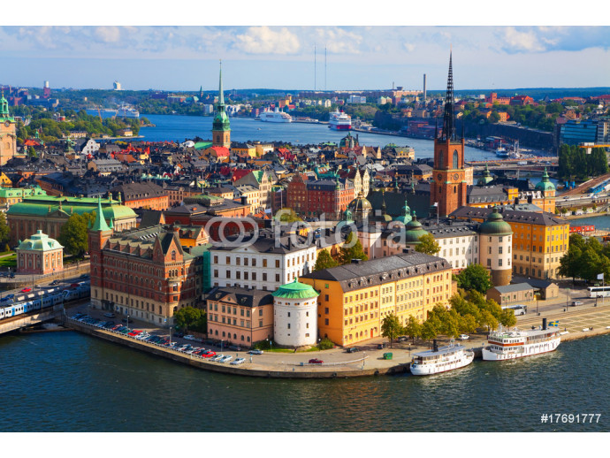 Panorama of Stockholm, Sweden 64238