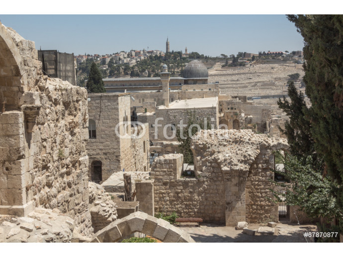 Walk through the ancient streets of Jerusalem. 64238