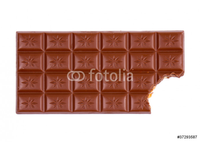 chocolate bar with bite 64238