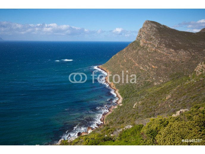 Shoreline near Cape Point, South Africa 64238
