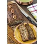 Banana Nut Bread with pecans 64238