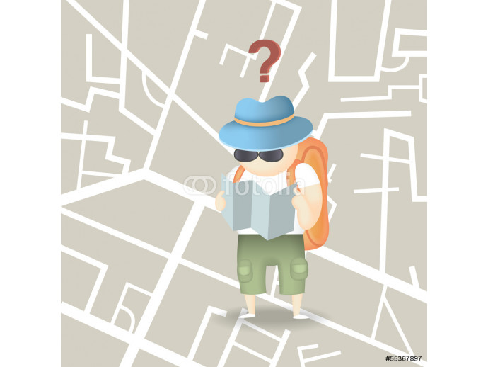 tourist backpack city 64238