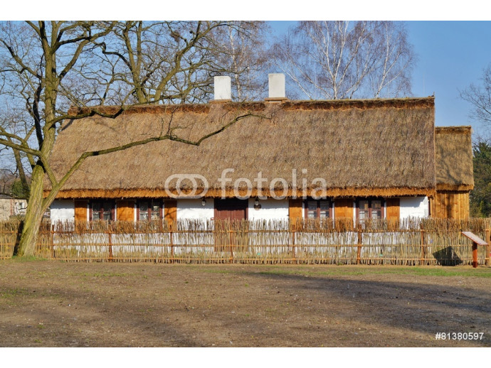 Farm, wooden and brick buildings of the area of the museum 64238