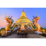 Wat Hyua Pla Kang, Chinese temple in Chiang Rai Thailand, This is the most popular temple in Chiang Rai. 64238