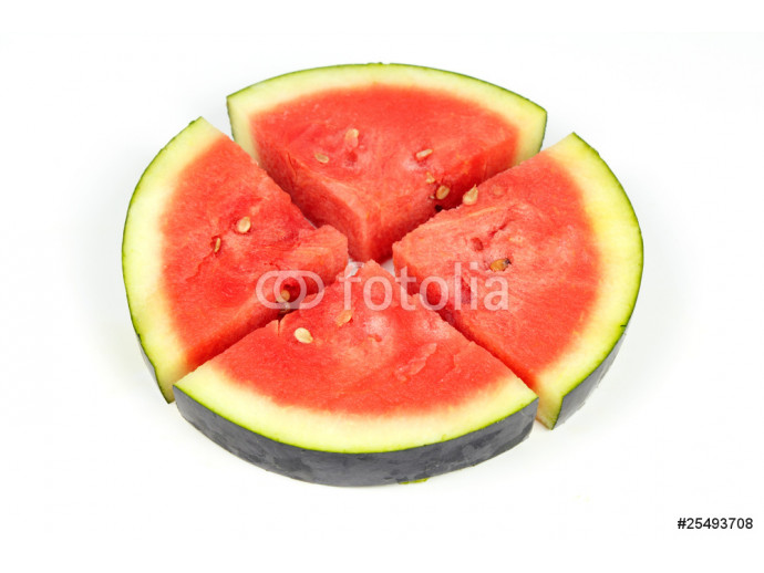 Watermelon Four Slices Circle 64238