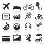 Hotel icons set3. vector eps 10 64238