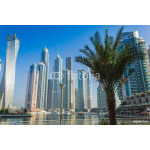 High rise buildings and streets in Dubai, UAE 64238