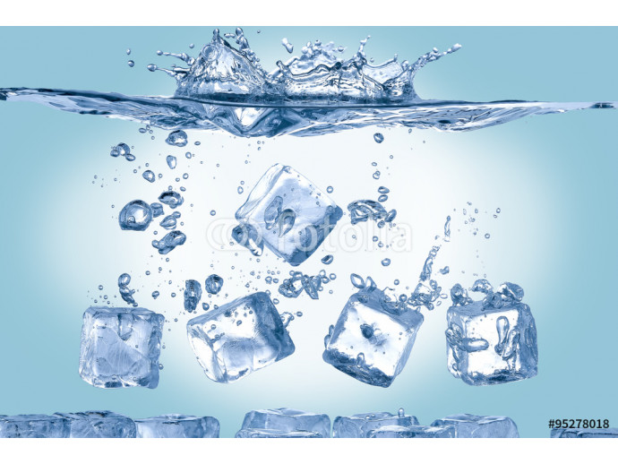 ice cubes in water 64238