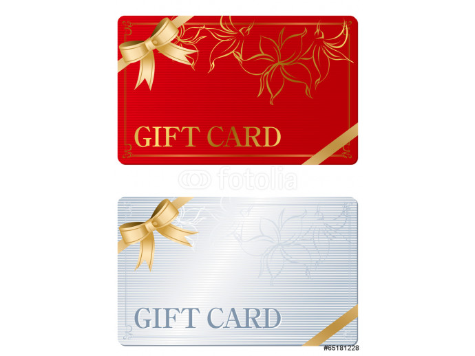 Gift Card Vector 64238