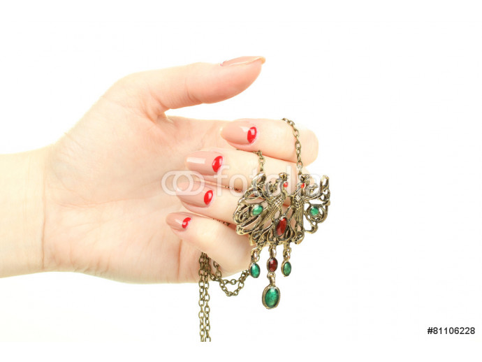 women's jewelry in the hands of 64238