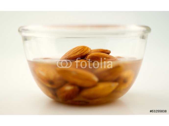 Almonds being activated in water 64238