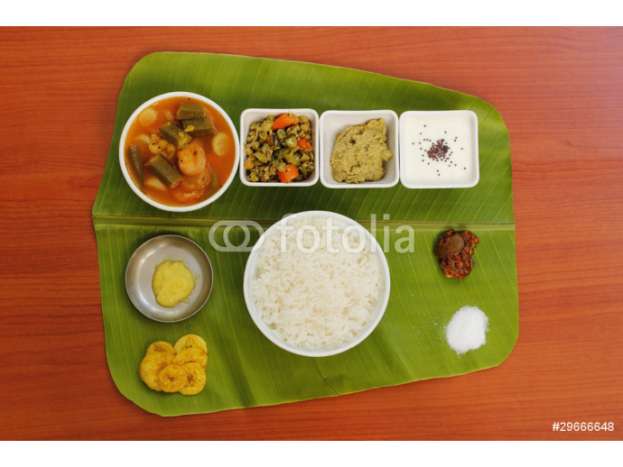 Vliestapete South Indian Simple Meals 64238
