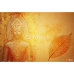 Abstract Buddhist Collage Background 64238