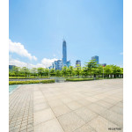empty square and skyscrapers of shenzheng in china 64238