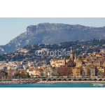 The townscape of Menton. 64238