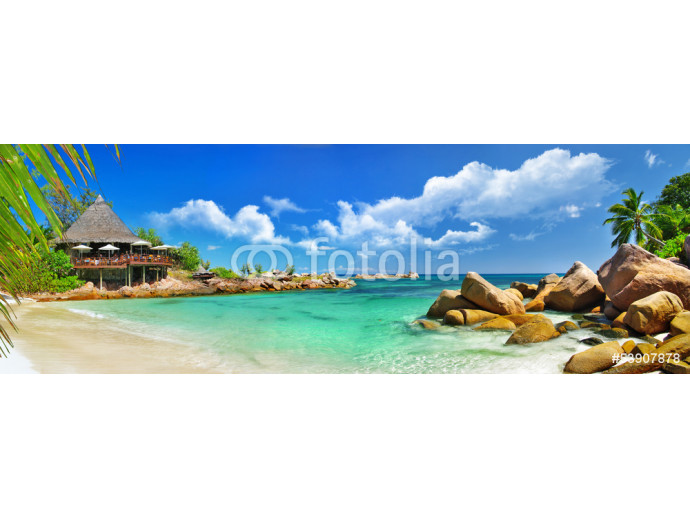 holidays in tropical paradise. Seychelles islands 64238