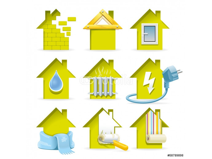 Home Construction Icons 64238