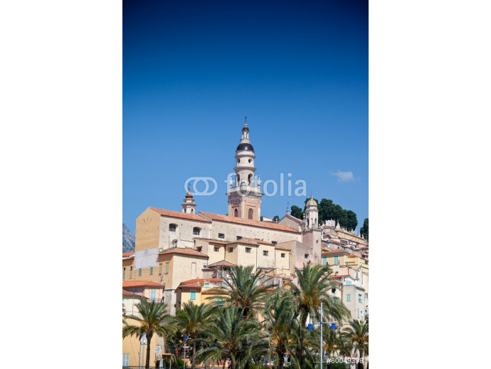 View of old town, Menton 64238
