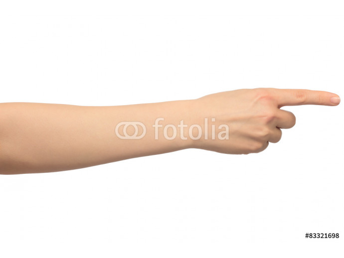 Wallpaper Isolated image with human hand shows gestures 64238