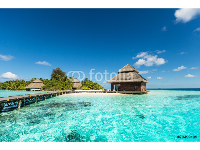 Beach Villas on small tropical island 64238
