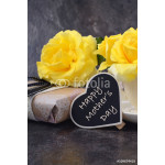 Mothers Day yellow roses 64238