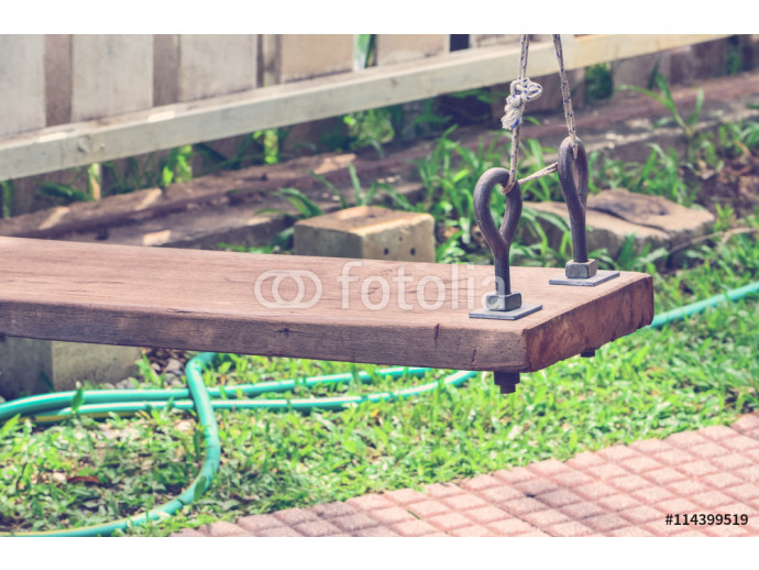 Retro color filter, Hanging swing wooden 64238