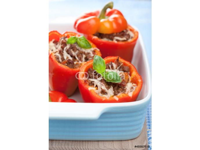 stuffed paprika with meat and vegetables 64238
