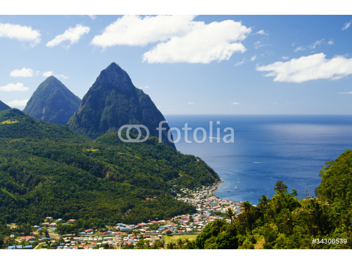 The Pitons 64238