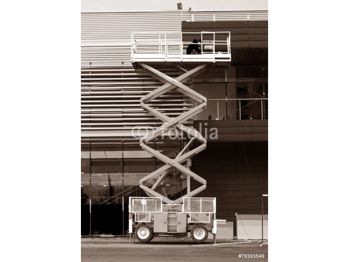 hydraulic scissor lift construction 64238