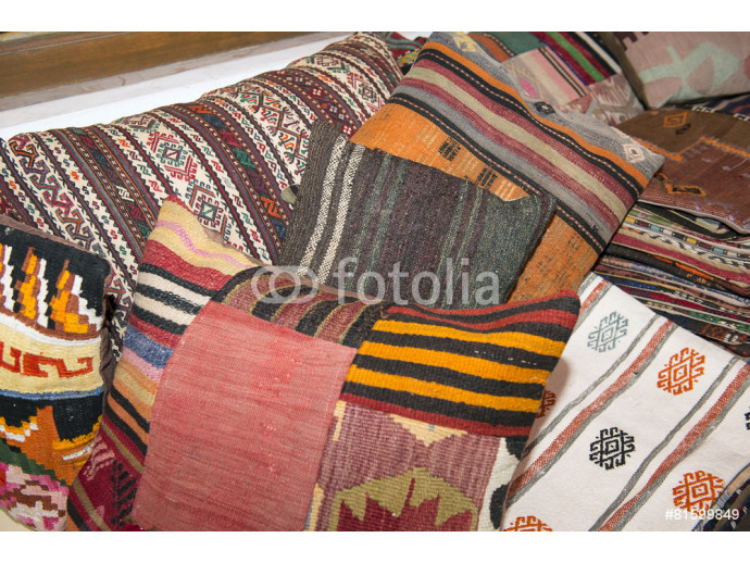 woven cushions in Turkey 64238