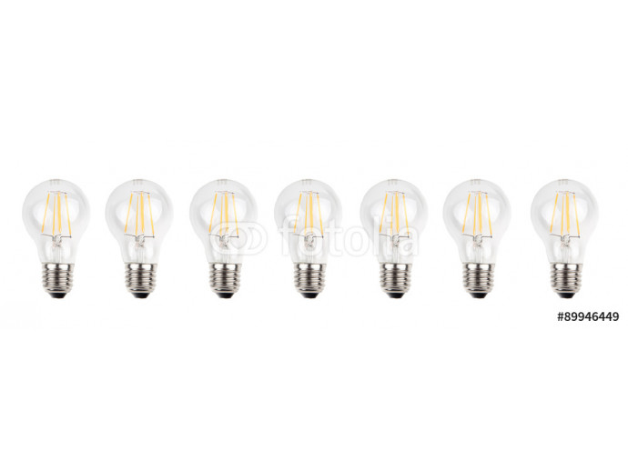 Bulb set isolated from background 64238