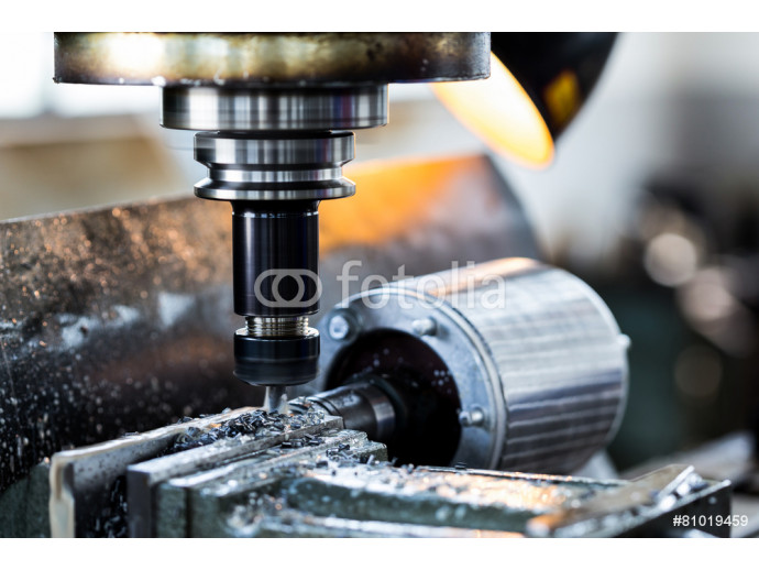 drilling machine in factory workshop 64238