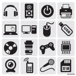 Electrical Icons set 64238