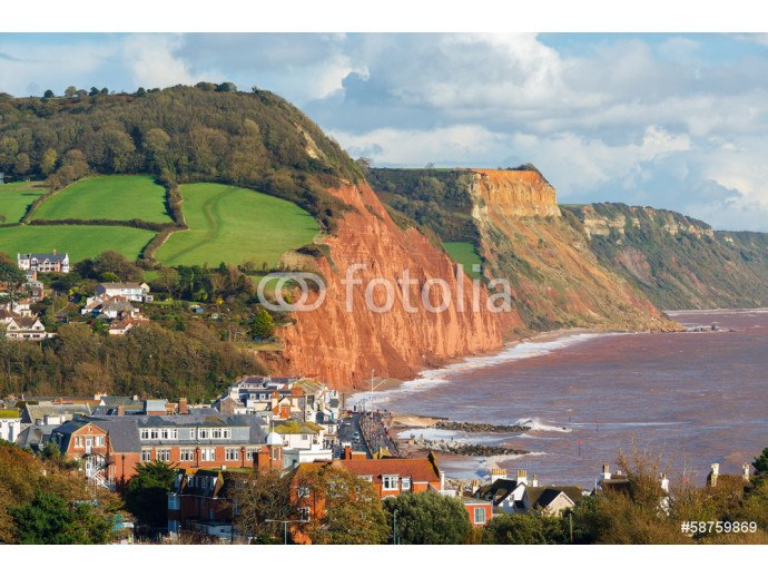 Overlooking Sidmouth Devon England 64238