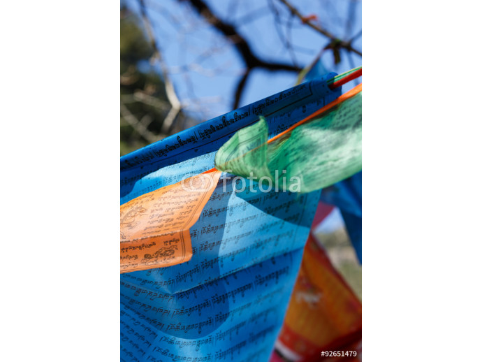 Fototapeta Buddhist prayer flags 64238
