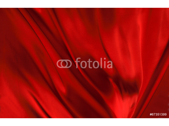 Red silk textile background 64238