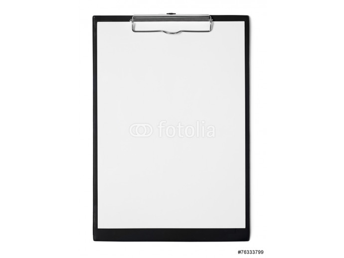Clipboard isolated on white 64238