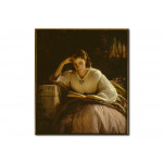 Reproduction sur toile Reading 109748
