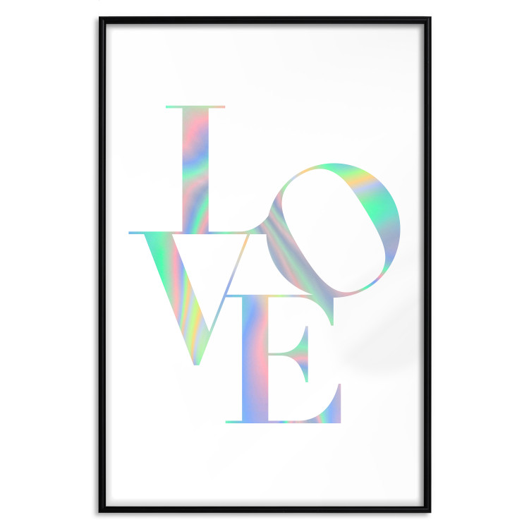 Twisted Love [Deco Poster - Holographic]
