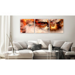 Cuadro decorativo Volcanic Abstraction (3 Parts) Square 129748 additionalThumb 3