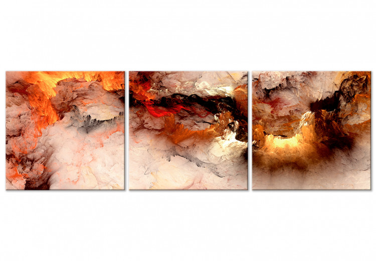 Volcanic Abstraction (3 Parts) Square