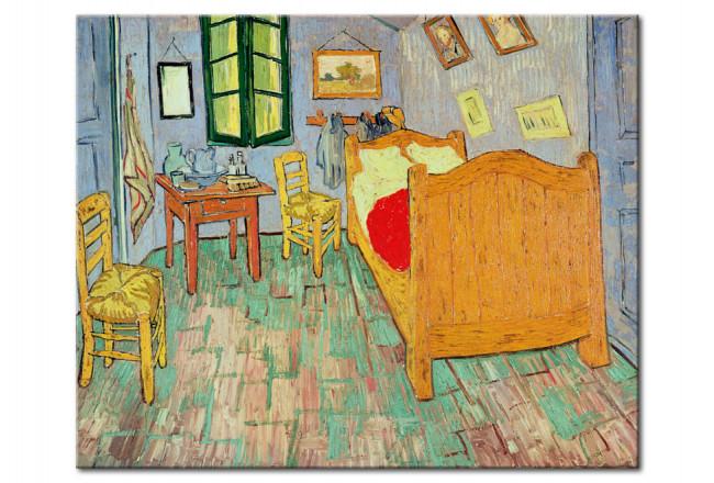Kunstdruck Van Goghs Schlafzimmer in Arles